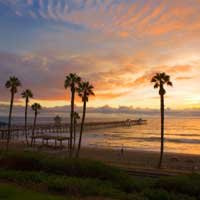 Reverse mortgage retirement at the beach